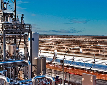 GREATER EFFICIENY IN CSP PLANTS