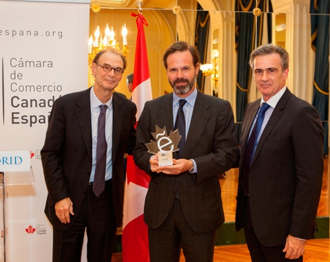 ACCIONA, Company of the Year for the Canada-Spain Chamber of Commerce