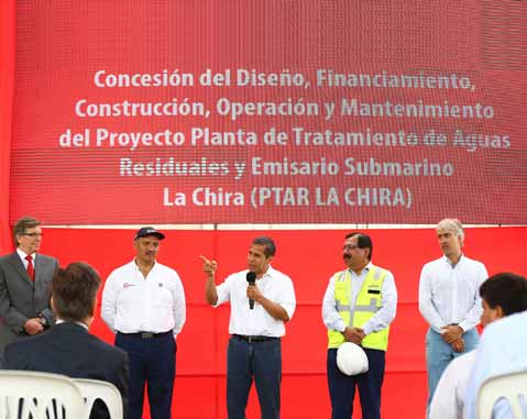 ACCIONA completes the treatment of water in Lima with the opening of La Chira
