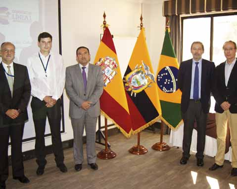 ACCIONA Infraestructuras signs a cooperation agreement with the Social Security Institute of Ecuador