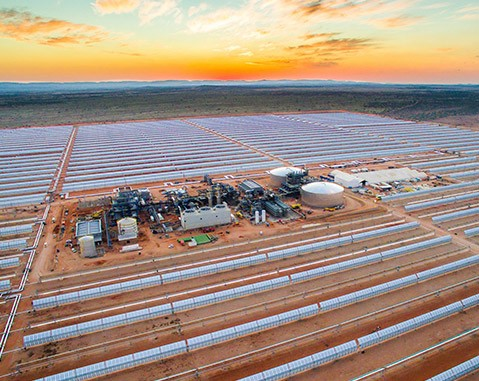 ACCIONA, Sener and TSK built solar power plant in South Africa sets record for round-the-clock electricity supply