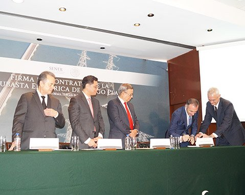 ACCIONA signs first contract for the sale of renewable energy resulting from Mexico's energy reforms