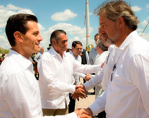 Ventika wind power complex, built by ACCIONA Energia, is inaugurated in Mexico