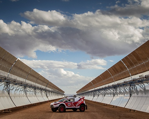 The ACCIONA 100% Ecopowered returns to compete in the African desert