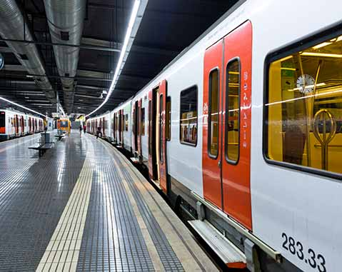 ACCIONA is awarded a cleaning services contract for stations in the Rail Network of Catalonia (FGC)