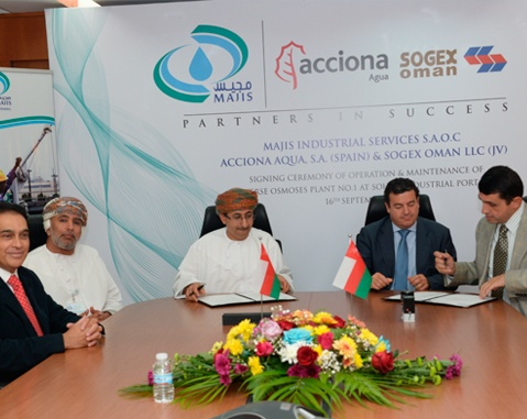 ACCIONA is awarded its first water contract in Oman, consolidating its presence in the middle east