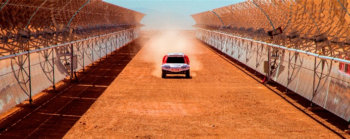 ACCIONA will compete in the Dakar Rally with  the first ever zero-emission, electric car