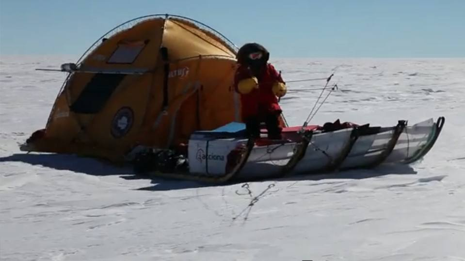 Admundsen. 100 years after his arrival at the South Pole