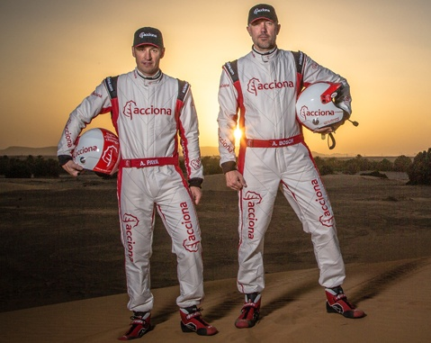 ACCIONA 100% EcoPowered: we are going to leave our mark on the Dakar Rally, but not on nature