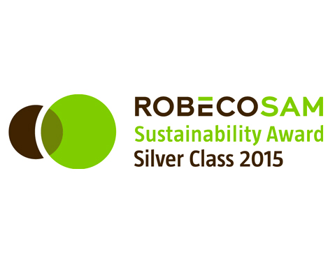 "ACCIONA has obtained the ""RobecoSAM Silver Class 2015"" distinction according to The Sustainability Yearbook 2015 of RobecoSAM"