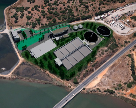 ACCIONA Agua consolidates its presence in Portugal with a new wastewater treatment plant in the Algarve