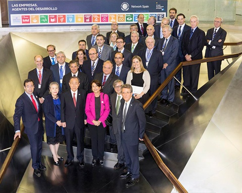 ACCIONA's Chairman participates in meeting between Spanish companies and Ban Ki-Moon