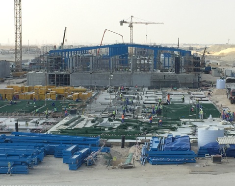ACCIONA takes part in the opening ceremony of the construction work for its first desalination plant in Qatar