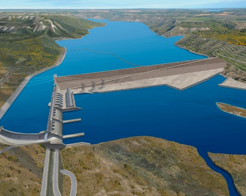 ACCIONA-led consortium signs cad$1.75 billion contract for Site C hydroelectric dam in Canada