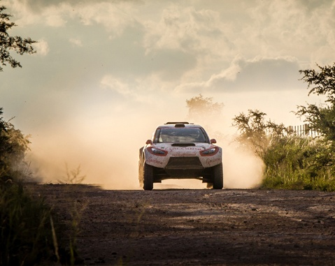The ACCIONA makes history at the Dakar Rally