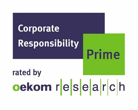 "ACCIONA has been categorized as ""Prime"" company by oekom research."