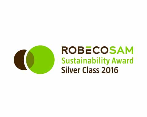 "ACCIONA has obtained the ""RobecoSAM Silver Class 2016"" distinction according to The Sustainability Yearbook 2016 of RobecoSAM"