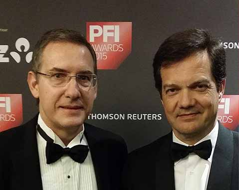 ACCIONA logra dos premios en los 'Project Finance International Awards 2015'