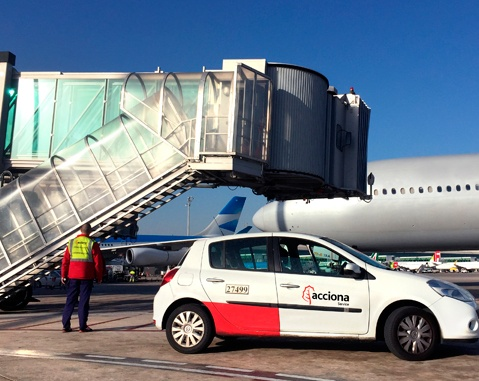 AENA renews its confidence in ACCIONA Service in Barcelona airport
