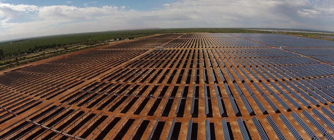 Planta fotovoltaica de Sishen