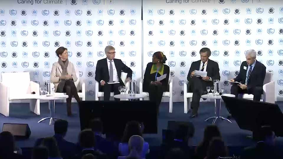 Caring for Climate Business Forum COP21 - Opening Plenary