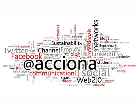 ACCIONA, the Ibex company with the best Twitter and Facebook stats
