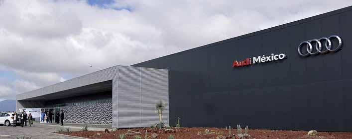 ACCIONA Service Wins A Contract For The New Audi Plant In Mexico - Audi mexico