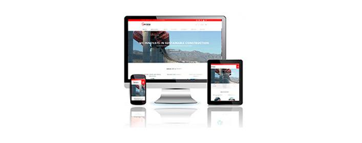 ACCIONA Construcción launches its new website featuring the latest technological innovations