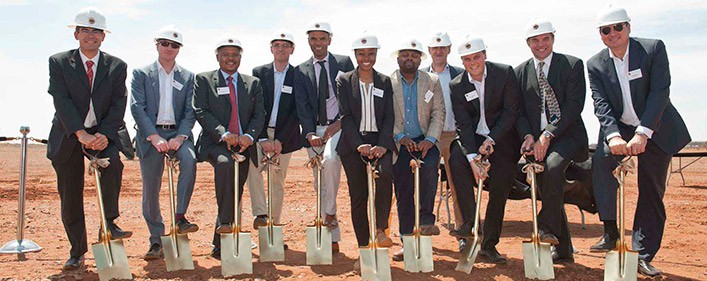 100 MW Kathu solar project in the Northern Cape of South Africa starts construction