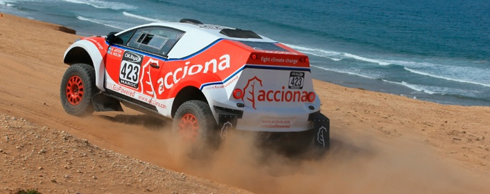 Volvemos al Dakar - ACCIONA 100% Ecopowered- 2017