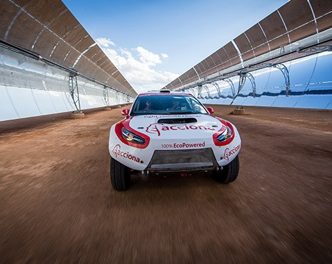 ACCIONA 100% EcoPowered: Un hito sin gasolina