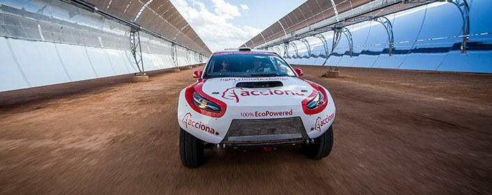 ACCIONA 100% EcoPowered reaches new milestone without fuel