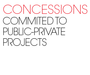 Concessions. commited public private projects