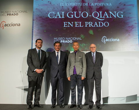 ACCIONA sponsors a project by the contemporary artist, Cai Guo-Qiang, at the Museo del Prado