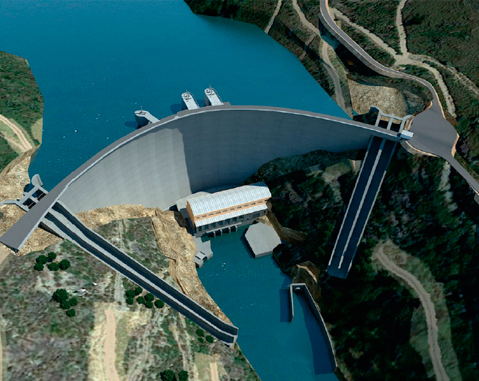ACCIONA to build hydroelectric works in Portugal worth 160 million euros