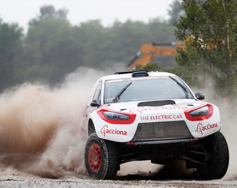 Another success for ACCIONA 100% EcoPowered  in its first european rally