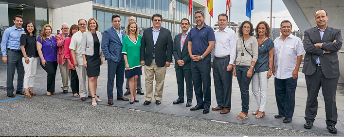 A delegation from Texas visits ACCIONA renewable facilities in Spain