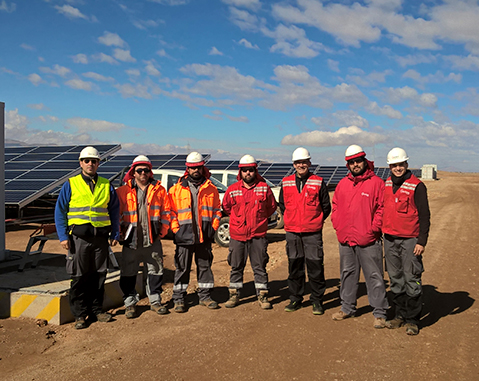 ACCIONA and the Universidad Politécnica de Madrid achieve the world record for power measurement in characterization of photovoltaic generators in Chile