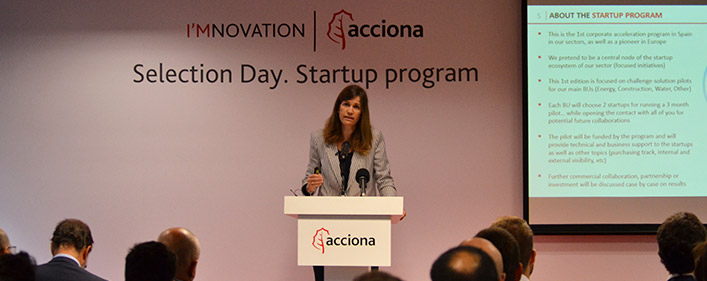 ACCIONA selects eight startups in Spain's first corporate accelerator for Infrastructure and Renewable Energy