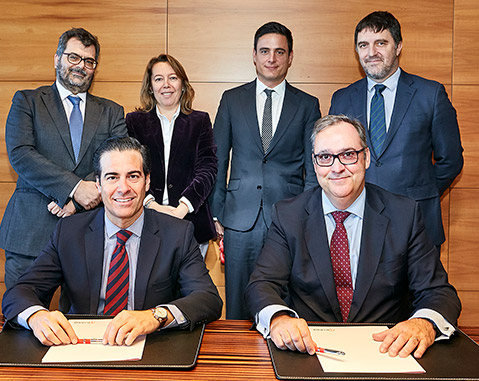 ICO and ACCIONA sign a loan agreement for 75 million Australian dollars to finance the construction of a wind farm in Australia