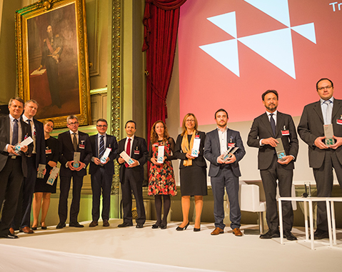 "ACCIONA wins ""CDP Europe Award 2017"" for its work in sustainable water management and against climate change"