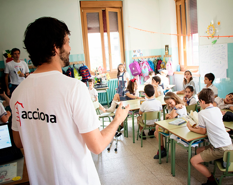 ACCIONA and its over 4,000 volunteers on International Volunteer Day 2017