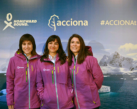 First Antarctic expedition by Spanish women scientists against climate change