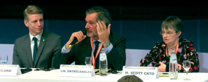 "José Manuel Entrecanales ""Europe needs to reduce its conventional generation to change its energy model"""