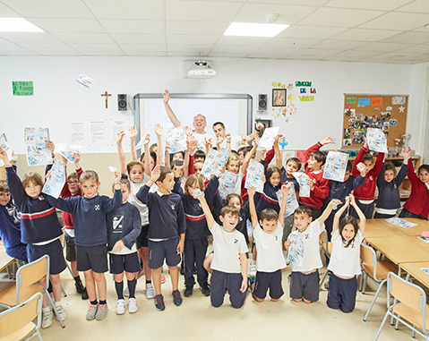 ACCIONA volunteers teach sustainability workshops to over 14,000 students in 18 countries