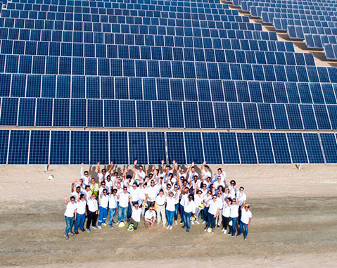 ACCIONA, Grupo Gransolar and Ghella complete the first stage of the Mohammed Bin Rashid Al Maktoum Solar Park (Dubai)