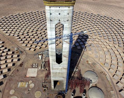 ACCIONA y Abengoa construirán la planta termosolar Cerro Dominador en Chile