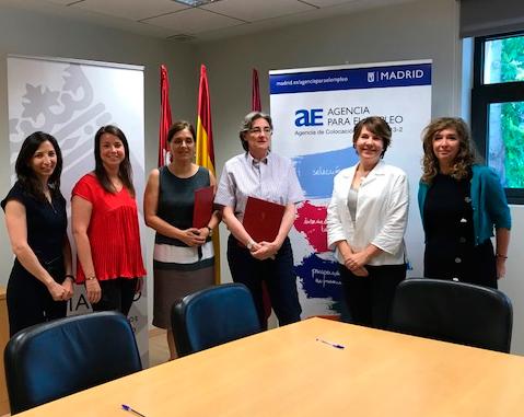 La agencia para el empleo del ayuntamiento de madrid y for Agencia de empleo madrid