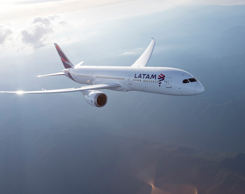 Latam Airlines signs a contract with ACCIONA for 100% renewable energy