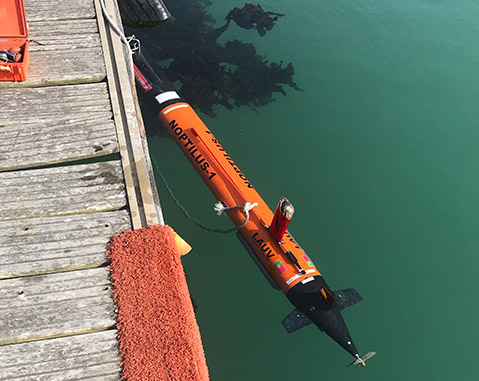 ACCIONA developing autonomous vehicles for underwater work within the SWARMs EUROPEAN R&D programme